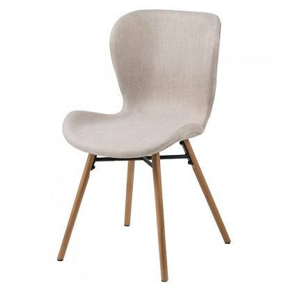 Batilda piaskowy krzesło