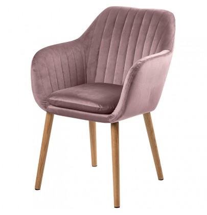 Emilia VIC krzesło pudrowy...