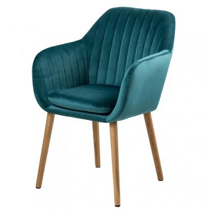 Emilia VIC krzesło turkus...
