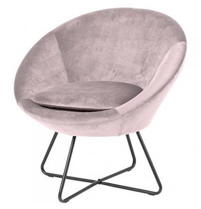 Center fotel VIC pudrowy róż