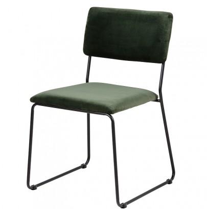 Cornelia VIC krzesło zielone