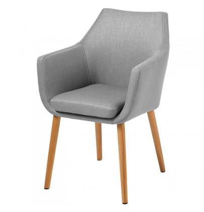 Nora krzesło szare