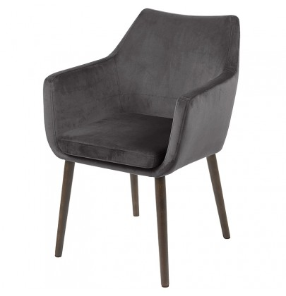 Nora VIC szary krzesło
