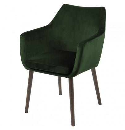 Nora VIC zielony krzesło