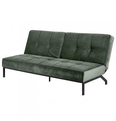 sofa perugia actona company zielony plusz
