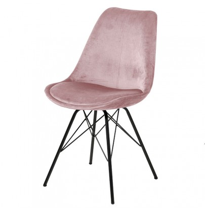 Eris VIC krzesło różowe