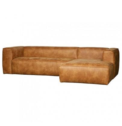 sofa bean marki woood, sofa narożna, sofa skórzana, 375689-C