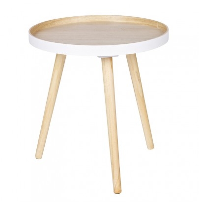 Sasha biały-dąb stolik