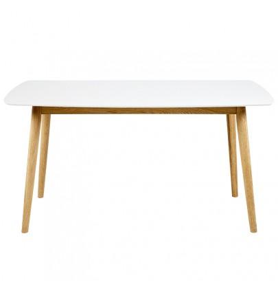 Nagano Bianco stół, biały blat