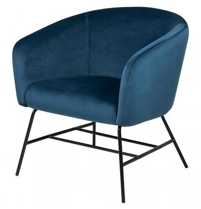 Ramsey VIC fotel niebieski