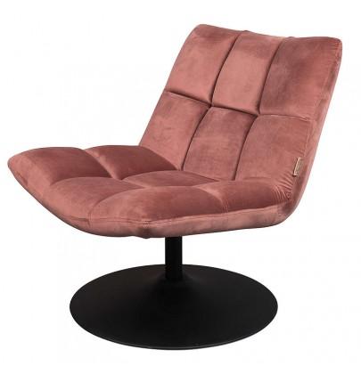 Bar fotel pudrowy róż DUTCH...