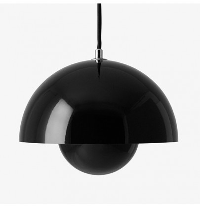 Flowerpot VP2 czarna lampa...