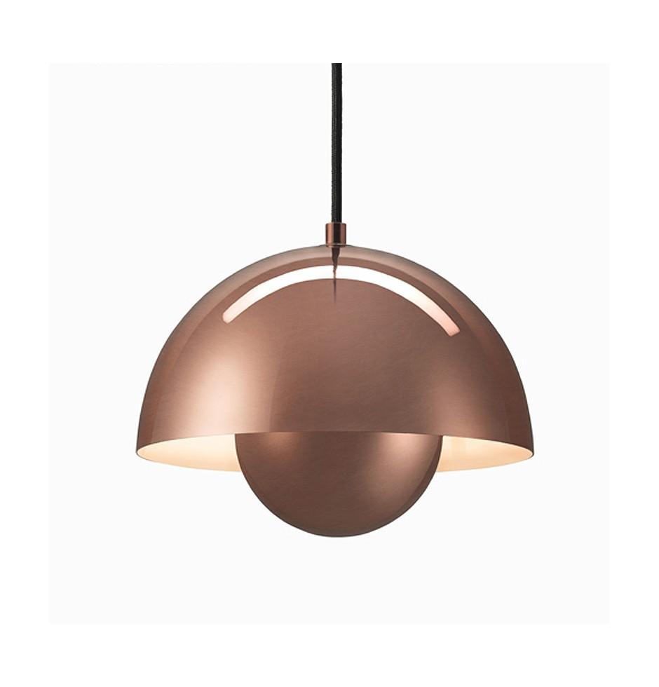Flowerpot VP1 metalic lampa sufitowa