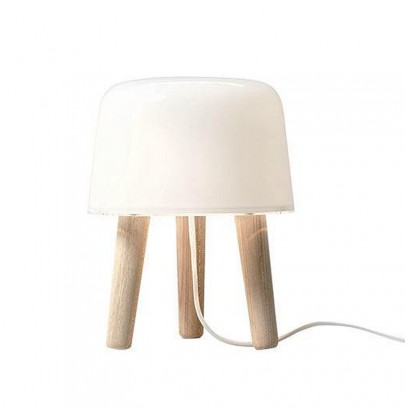Milk lampa stołowa