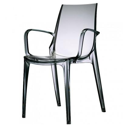 Vanity Arm krzesło smoked...