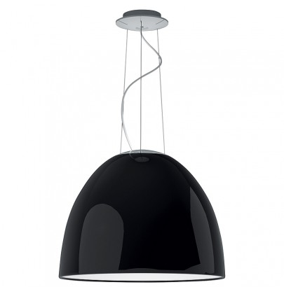 Nur Gloss czarna lampa...