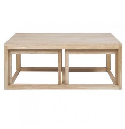 Cornus Wood komplet stolików