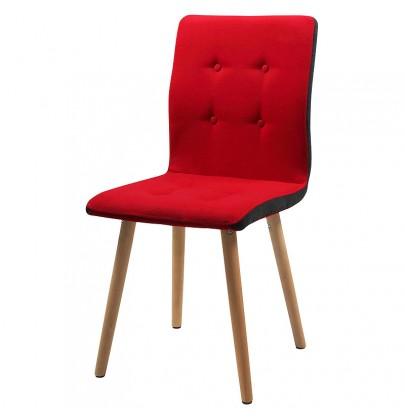 Frida krzesło czerwone
