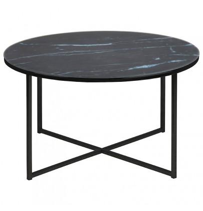 Alisma Rondo Black stolik
