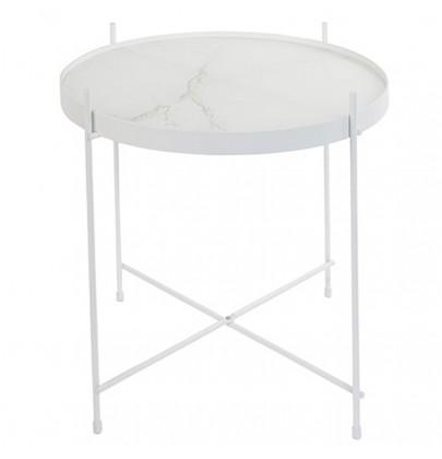 Cupid stoli biały marmur