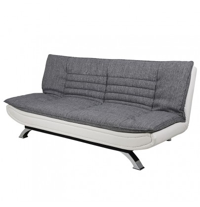 Fabian Grey White sofa