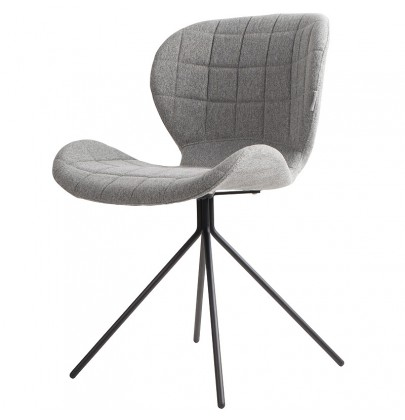 OMG krzesło szare