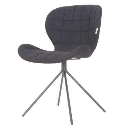 OMG krzesło czarne
