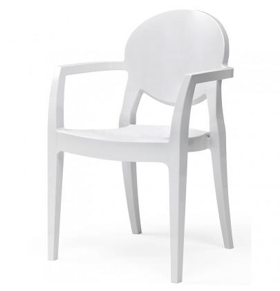Igloo Arm krzesło białe