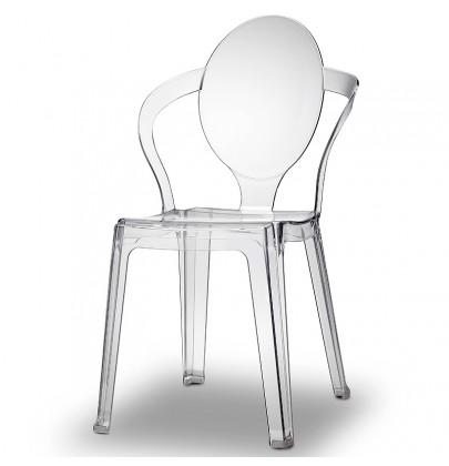 Spoon krzesło transparentne