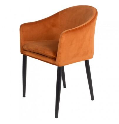 Catelyn krzesło pomarańczowy